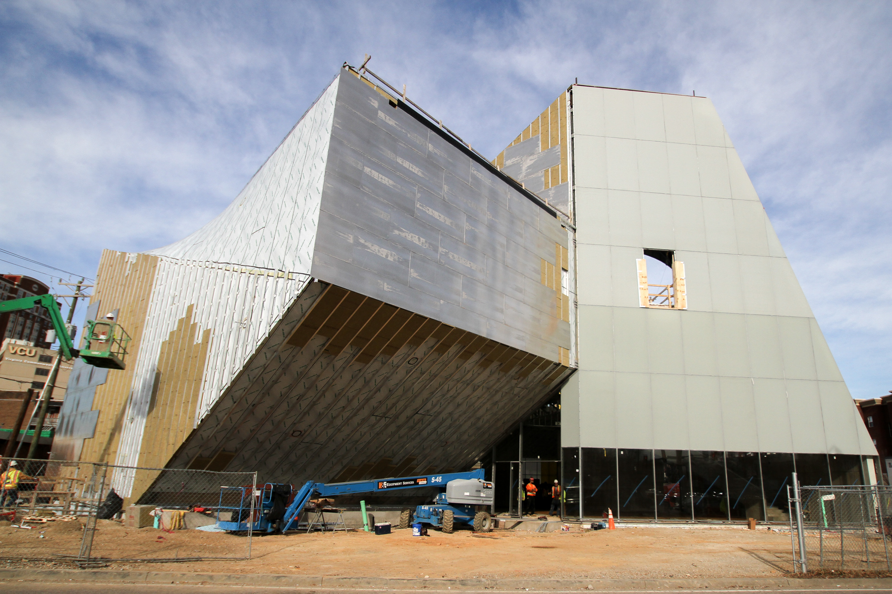new institute for contemporary art at vcu will open in october